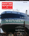 Logo of August 2019 - Maritime Reporter and Engineering News