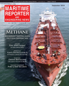 Logo of September 2019 - Maritime Reporter and Engineering News