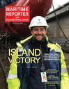 Logo of April 2020 - Maritime Reporter and Engineering News