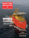 Logo of April 2021 - Maritime Reporter and Engineering News