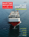 Logo of August 2021 - Maritime Reporter and Engineering News