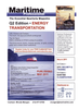 Maritime Logistics Professional Magazine, page 3rd Cover,  Q1 2011 crude oil