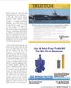 Maritime Logistics Professional Magazine, page 13,  Q1 2012 United States