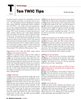 Maritime Logistics Professional Magazine, page 56,  Q1 2012 Miami River