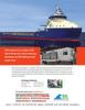 Maritime Logistics Professional Magazine, page 3rd Cover,  Q4 2012