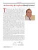 Maritime Logistics Professional Magazine, page 6,  Q4 2012