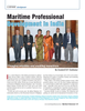 Maritime Logistics Professional Magazine, page 59,  Q2 2015