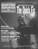 Maritime Reporter Magazine Cover Mar 2001 -