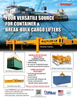 Maritime Reporter Magazine, page 3rd Cover,  Aug 2020