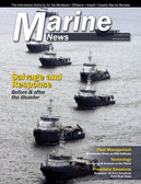 Marine News Magazine Cover Dec 2014 - Salvage & Spill Response