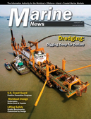 Marine News Magazine Cover Feb 2015 - Dredging & Marine Construction