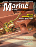 Marine News Magazine Cover Sep 2015 - Inland Waterways