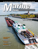 Marine News Magazine Cover Mar 2017 - Pushboats, Tugs & Assist Vessels