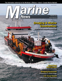 Marine News Magazine Cover Feb 2018 - Dredging & Marine Construction