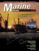 Marine News Magazine Cover Apr 2018 - Boatbuilding, Construction & Repair