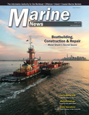 Marine News Magazine Cover Apr 2019 - Boatbuilding, Construction & Repair