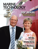 Marine Technology Magazine Cover Jun 2013 - AUV Operations