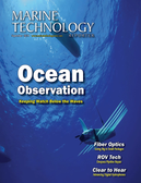 Marine Technology Magazine Cover Sep 2014 - Ocean Observation: Gliders, Buoys & Sub-Surface Networks