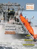 Marine Technology Magazine Cover May 2015 - Underwater Defense