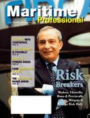 Maritime Logistics Professional Magazine Cover Q1 2013 - Maritime Risk