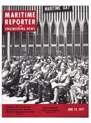 Maritime Reporter Magazine Cover Jun 15, 1977 -