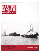 Maritime Reporter Magazine Cover Sep 15, 1977 -
