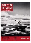 Maritime Reporter Magazine Cover Nov 1977 -