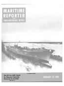 Maritime Reporter Magazine Cover Feb 15, 1980 -