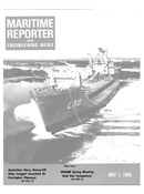 Maritime Reporter Magazine Cover May 1980 -