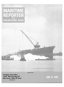 Maritime Reporter Magazine Cover Jun 15, 1980 -