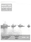 Maritime Reporter Magazine Cover Oct 1980 -