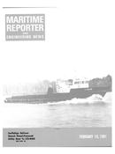 Maritime Reporter Magazine Cover Feb 15, 1981 -