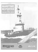 Maritime Reporter Magazine Cover Apr 15, 1981 -