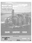 Maritime Reporter Magazine Cover Nov 1981 -