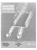 Maritime Reporter Magazine Cover Mar 1983 -