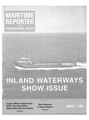 Maritime Reporter Magazine Cover Aug 1983 -
