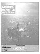 Maritime Reporter Magazine Cover Feb 15, 1985 -