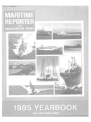 Maritime Reporter Magazine Cover Jun 1985 -