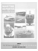 Maritime Reporter Magazine Cover Dec 1985 -