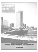 Maritime Reporter Magazine Cover May 1986 -
