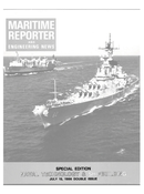 Maritime Reporter Magazine Cover Jul 15, 1986 -