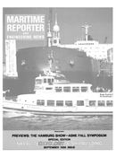 Maritime Reporter Magazine Cover Sep 1986 -