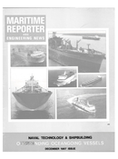 Maritime Reporter Magazine Cover Dec 1987 -