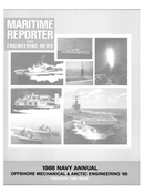 Maritime Reporter Magazine Cover Feb 1988 -