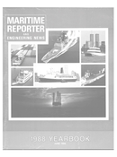 Maritime Reporter Magazine Cover Jun 1988 -