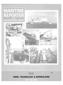 Maritime Reporter Magazine Cover May 1990 -