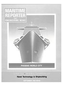 Maritime Reporter Magazine Cover Sep 1990 -