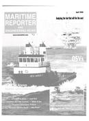 Maritime Reporter Magazine Cover Apr 2000 -