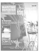Maritime Reporter Magazine Cover Feb 2001 -
