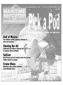 Maritime Reporter Magazine Cover Jul 2001 -